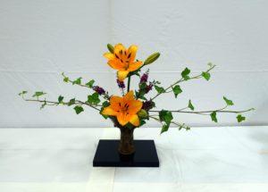 art flowers arrangement
